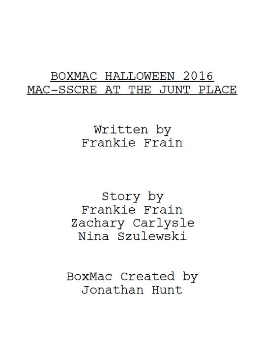 BoxMac 60: Mac-ssacre at the Junt Place