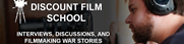 "Selected clips from Red Cow's filmmaking podcast, ""Discount Film School."""