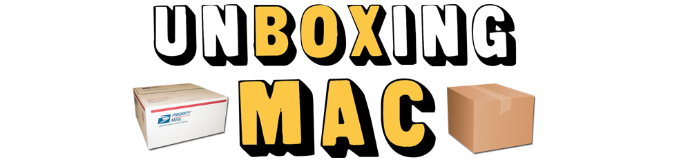 Video Category: UnBoxing Mac