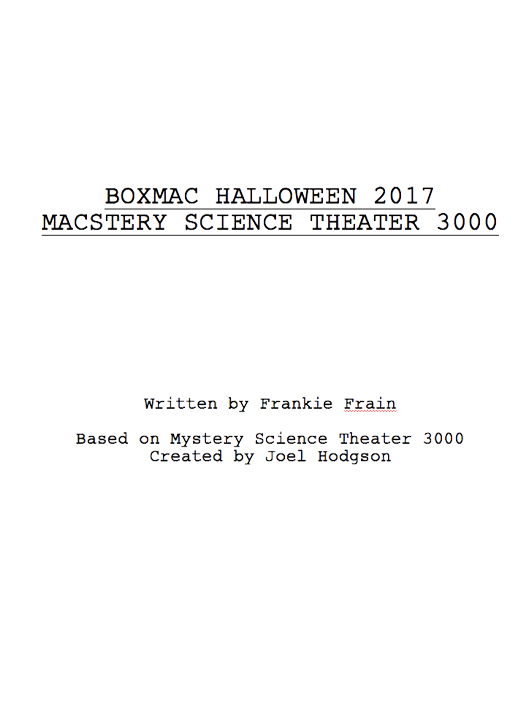 BoxMac 95: Macstery Science Theater 3000